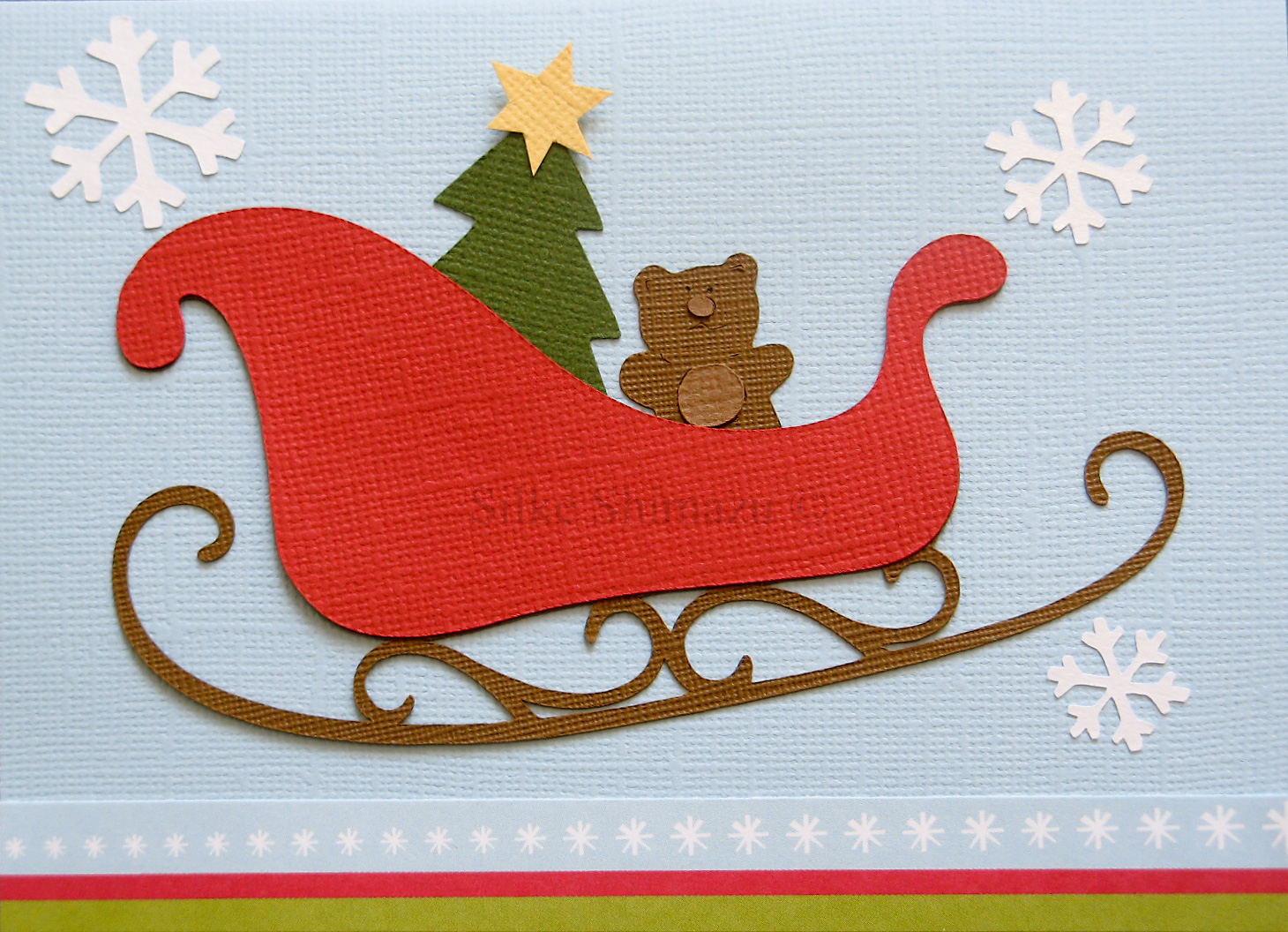 Sleigh Christmas Opposites attract cricut cartridge get inky with ...