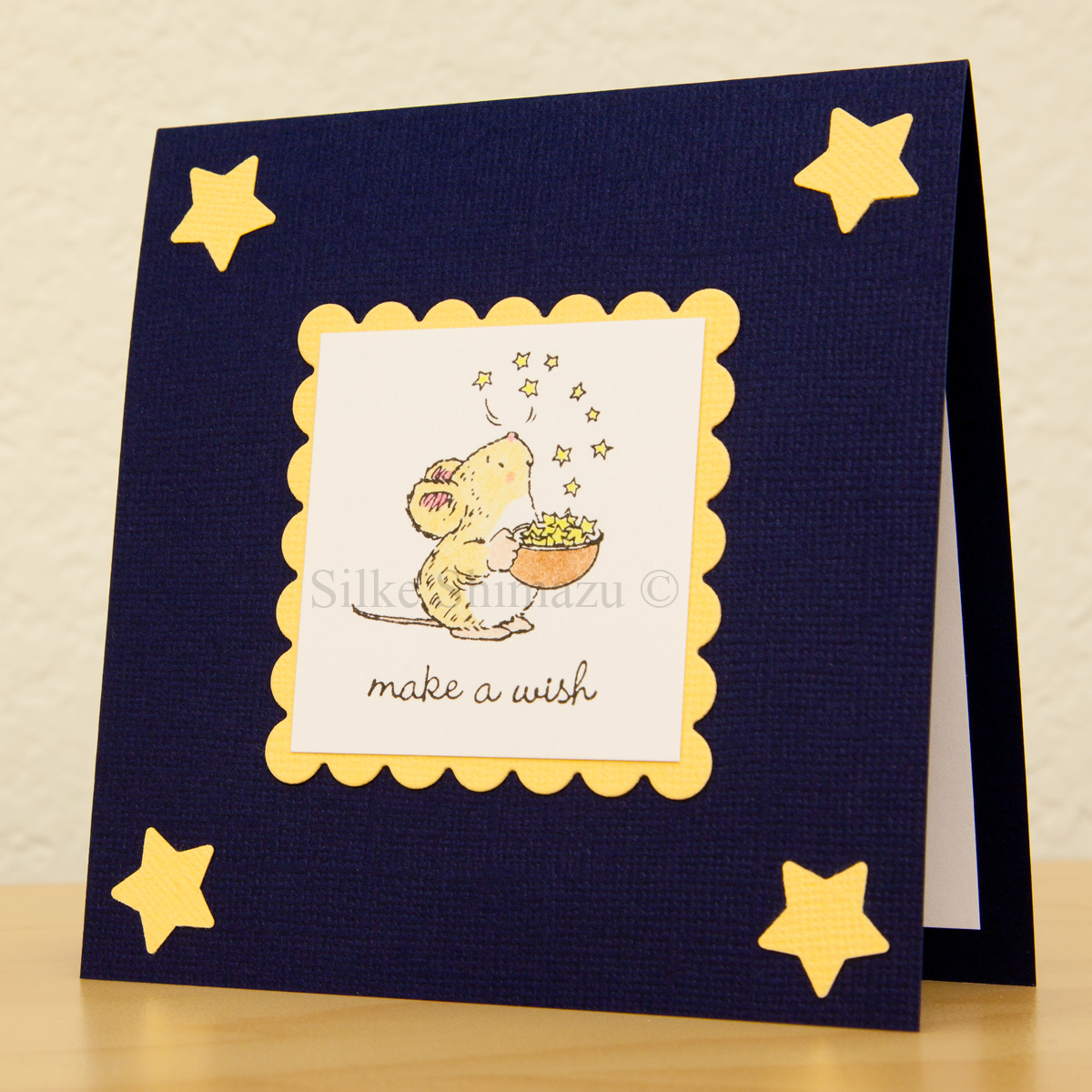 Make A Wish Birthday Card Crafthubs – How to Make Birthday Cards