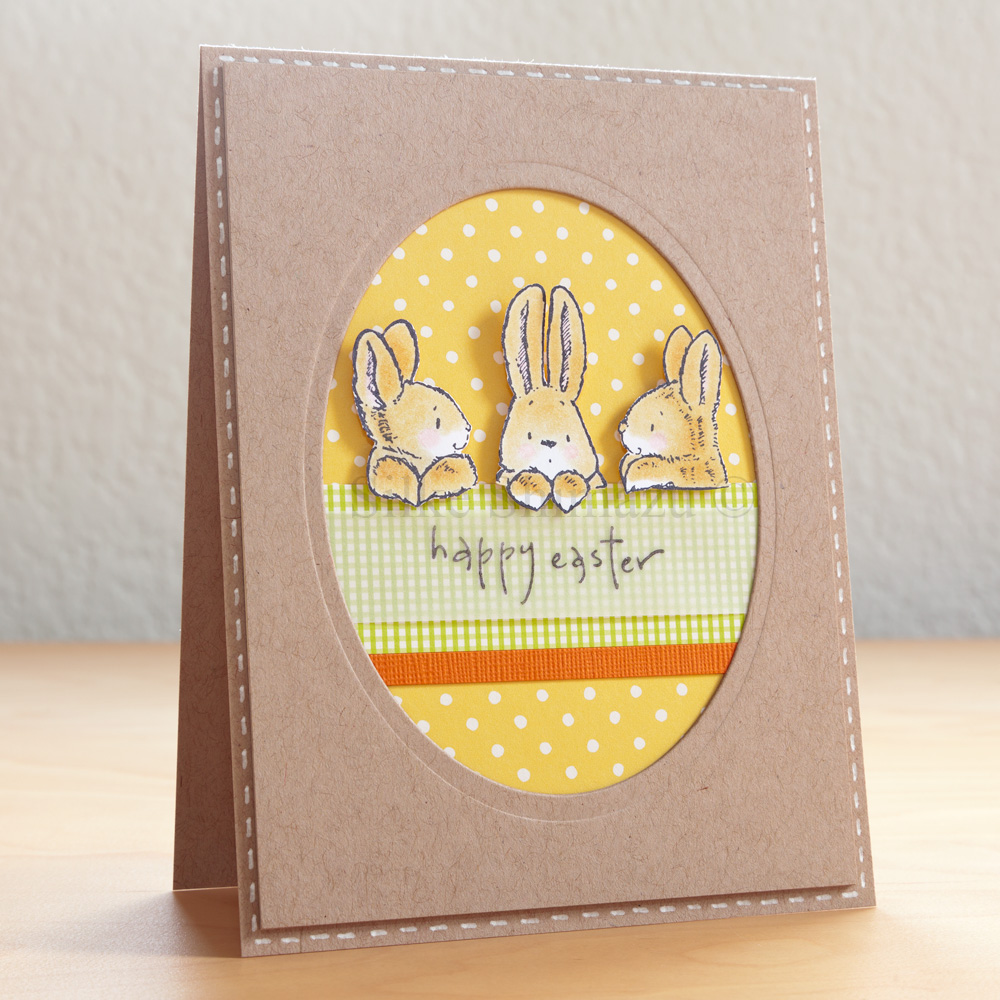 Easter Card Easter Egg Card Happy Easter Card 400 via Etsy – Handmade Easter Cards Ideas