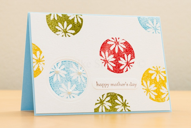 Mother's Day Card 2013 with Penny Black Wishes and Stampin' Up Teeny Tiny Wishes