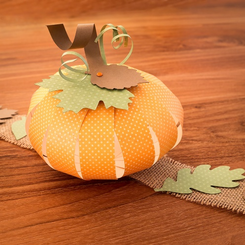 Fall Decoration Paper Pumpkin